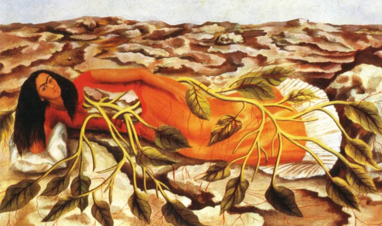 Roots painting by Frida Kahlo