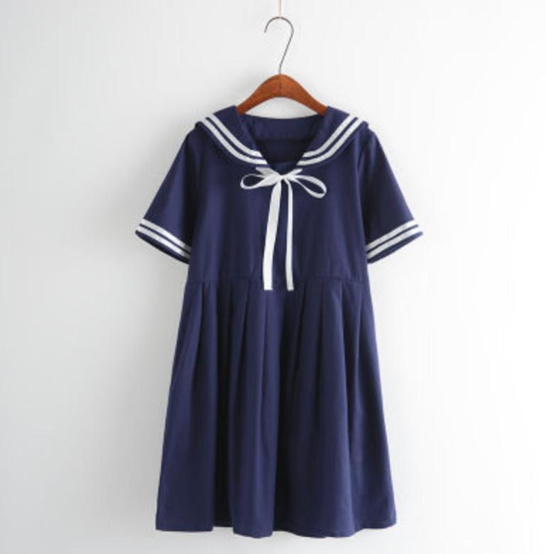 navy sailor nautical dress