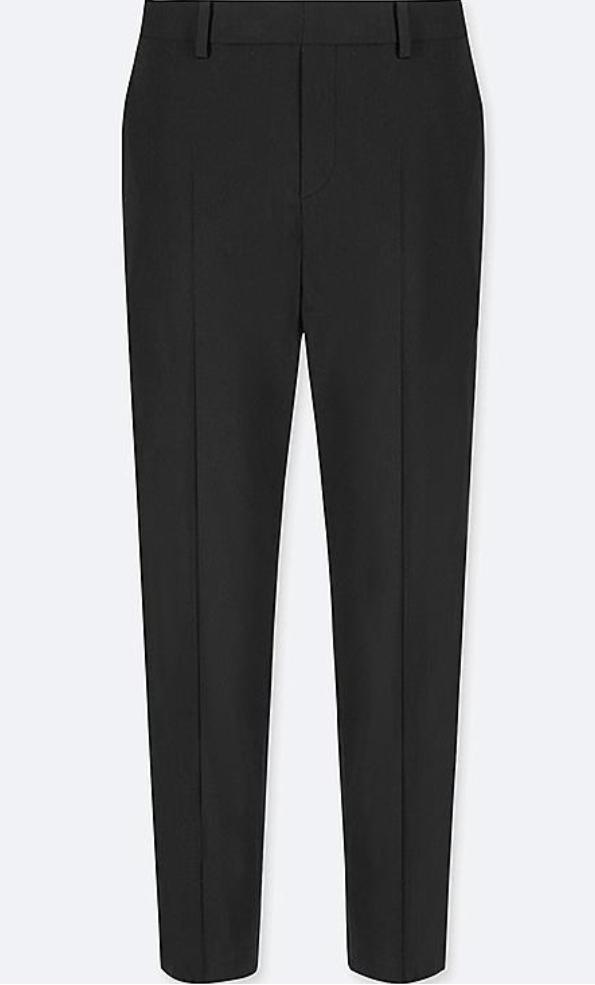 Black women's suit trousers fro UNIQLO