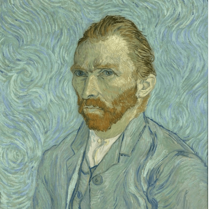 Self portrait by Vincent Van Gogh, 1889